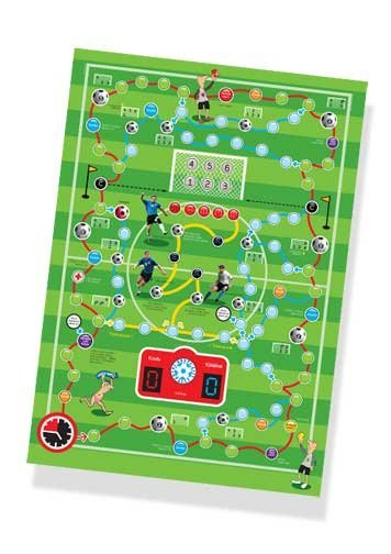 2 minute football dice game